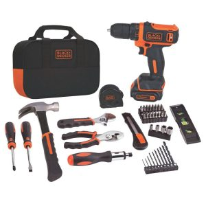 BLACK+DECKER BDCDD12PK tool set