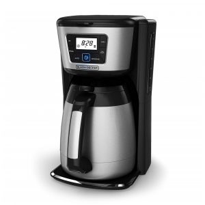 BLACK+DECKER CM2035B thermal carafe coffee maker, programmable with display