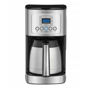 Cuisinart CDD-3400 Thermal Coffeemaker, silver and black finish
