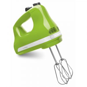 KitchenAid KHM512ER green hand mixer