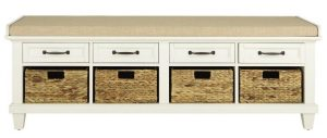 Home Decorators Collection Martin Ivory Bench