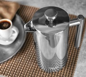 Müller stainless steel French press