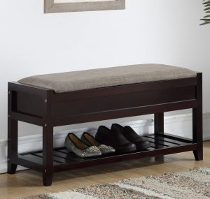 Porch & Den Humes Shoe Bench