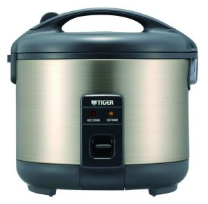 Tiger JNP-S55U-HI rice cooker in a compact size