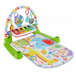 Fisher Price Deluxe Kick and Play baby play mat with piano