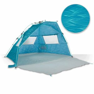 Blue Lightspeed Outdoors Quick Cabana Beach Canopy