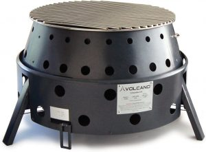 Volcano Grills 3-Fuel Portable Fire pit for propane gas and fire wood