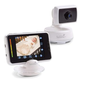 Sumee video baby monitor with a large screen