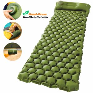 AirExpect Camping Sleeping Pad with Built-in Pump