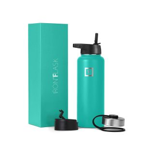 Iron Flask Sports Turquoise Water Bottle