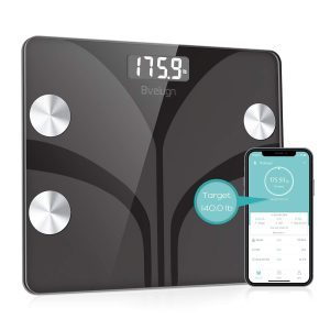Bveiugn Body Fat Bathroom Scale