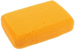 Soft yellow sponge