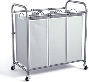 ROMOON Laundry Sorter and Hamper on Wheels
