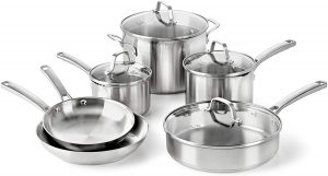 Calphalon Classic Stainless Steel Pots and Pans Set