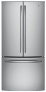 GE GNE25JSKSS French door refrigerator