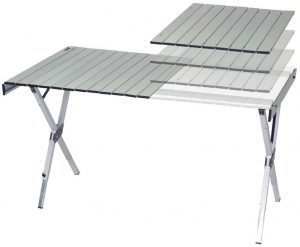 Aluminum Compact Expandable Table