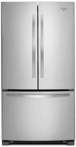 Whirlpool WRF532SMBM French door refrigerator