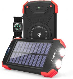 BLAVOR PN-W05 - solar powered wireless charger