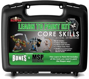 Reaper Miniatures Learn to Paint Kit: Core Skills