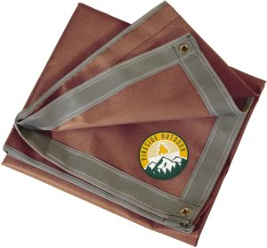 Ember Mat spark and ember protection for patios, decks, lawns and campsites